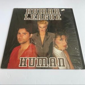 "Human League Human 12"" Single Vinyl Récord LP"